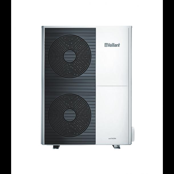 Vaillant aroTHERM VWL 105/5 AS S2 400V. Luft til vand varmepumpe 10 kW. Kølemiddel split