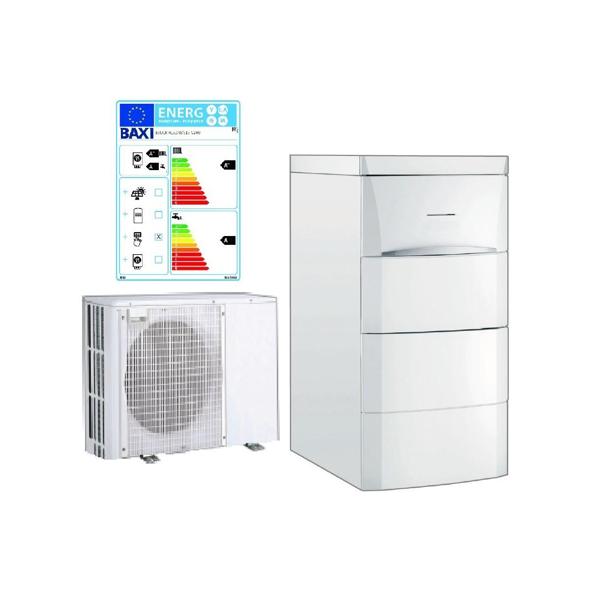 Baxi varmpepumpe luft til vand 6 kW
