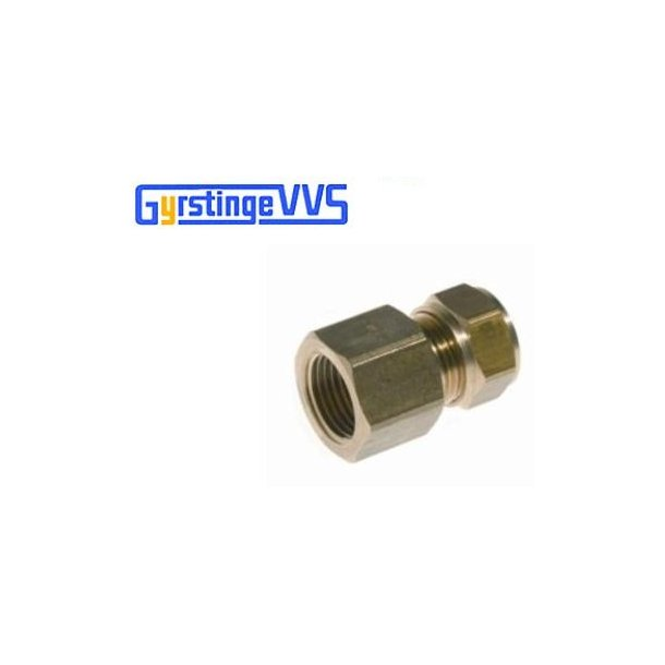 Conex overgang m/muffe 18 mm-1/2